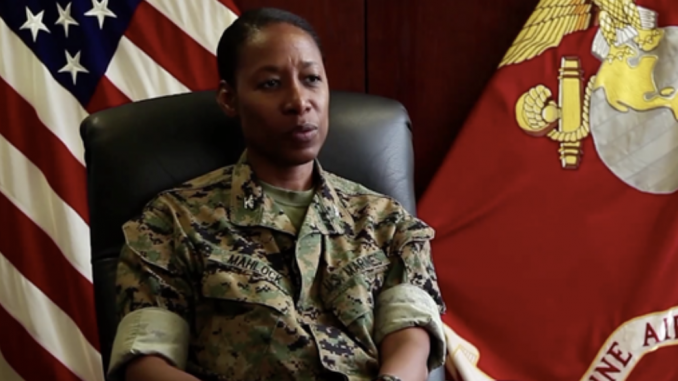 First black woman nominated for Marine brigadier general